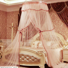 Princess Lace Mosquito Net Canopy For Single Double Queen King Bed Size Romantic