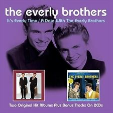 It's Everly Time/a Date With the Everly Bros - Everly Bros New & Sealed CD-JEWEL