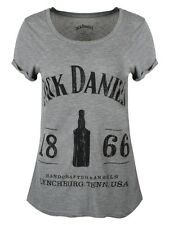 Jack Daniels 1866 Women's Grey T-shirt