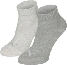 PUMA Trainer socks Children 2 Pack Quarters Grey