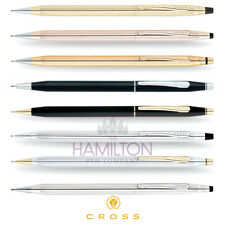 CROSS CLASSIC CENTURY 0.7mm MECHANICAL PENCIL - available in 8 elegant finishes