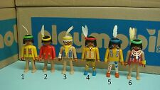 Playmobil Indians series feather BOY Figure klicky Geobra Toy CHOOSE one 103