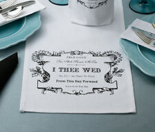 WEDDING & SPECIAL OCCASION TABLE RUNNERS & WINE BAGS & HOLDERS - PERSONALIZE!!!