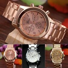 Fashion Analog Quartz Ladies Unisex Wrist Watch Stainless Steel Charm Women Girl