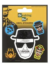 Breaking Bad Heisenberg Sticker Set Sticker Pack 10x12.5cm
