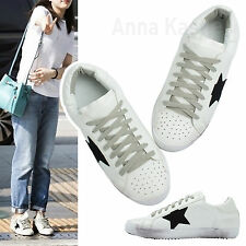 AnnaKastle New Womens Star detail Low Top Fashion Sneakers US 5 6 7 8