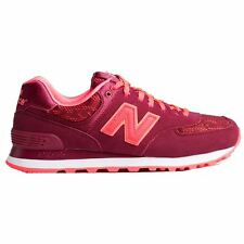 New Balance 574 Classics Traditionnels Purple Womens Trainers