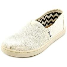 Toms Youth Classic Loafers   Round Toe Canvas  Loafer
