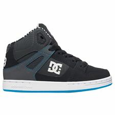 DC Shoes Rebound KB Black White Youths Trainers