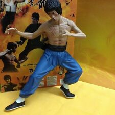 """New 14"""" Bruce Lee Action Figure Statue Enter the Dragon Model Toys Collectibles"""