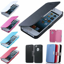 Nice Magnetic Flip PU Leather Case Hard Full Cover Skin For Apple iPhone 4 4G 4S