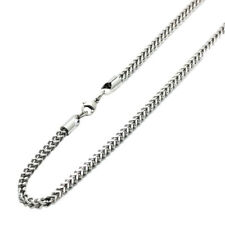 4mm Stainless Steel Chain Necklaces  Franco Chain / Gift box / Ship from USA