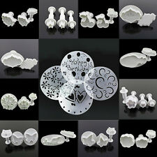 17 Sets to Choose Sugarcraft Cake Decorating Fondant Icing Plunger Cutters Tool