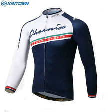 Men Cycling Jersey Bike Bicycle Long Sleeves Cycle Wear Clothing Outdoor Sports