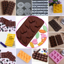 New 40 Styles Silicone Freeze Mould Bar Tray Chocolate Cake Mold Jelly Ice Maker