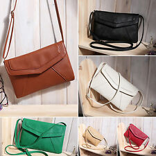 Womens Retro Shoulder Bag Envelope Handbag Messenger Purse Crossbody Small Bag