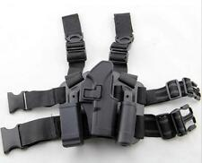 Glock 17 Tactical Drop Leg Thigh Rig Holster Platform Panel Plate Holsters RH