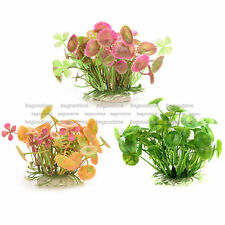 Soft Plastic Underwater Grass Aquarium Plants Fish Tank Landscape Decorations