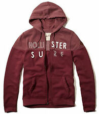 New Hollister By Abercrombie & Fitch Men Full Zip and Pullover Hoodie Size S