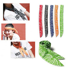 1PCS Summer Neck Cooler Scarf Body Ice Cool Cooling Wrap Necktie Sport Headband