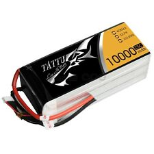 Gens Ace 10000mAh 22.2V 25C 6S1P TATTU Lipo Battery Pack