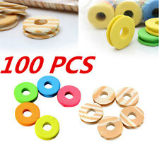 100pcs Trace Circular Tackle Fishing line 2016 Outdoor Winding plate Swivel
