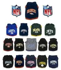 NFL DOG HOODIE TEE SHIRT * Pick Your Team * Football Fan Pet Gear Sleeveless