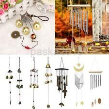 Relaxing Metal Bells Wind Chime Charm Hanging Yard Home Feng Shui Ornament Decor