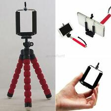 Vogue Mini Flexible Tripod Octopus Stand Phone Holder For iPhone Digital Camera