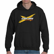 CAN AM OFF ROAD SPYDER BRP ATV COMMANDER UTV Hoodie Sweatshirt Black Size S-3XL