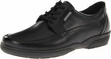 MEPHISTO Men's Agazio Oxford Black Leather Walking shoe