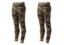LOT OF 2 Croft & Barrow Men's Tall LT XLT Camo Thermal Underwear Base Pants NEW