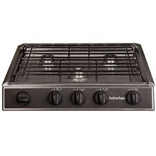 Suburban 2963A Stainless Steel 3 Burner Slide-In Cooktop