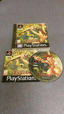 Disney Tarzan Playstation one game, PAL PS1, Free 1st post