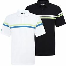 Callaway Contrast Striped Chest Opti-Series Stretch Mens Golf Polo Shirt