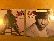 Bobby Brown, Two 45 rpm Record, Roni, Girlfriend, Orig Jackets