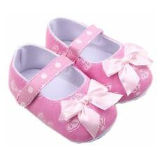 Pink Bow Infant Baby Girl Non-slip Soft Sandals Shoes Toddler Newborn New