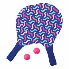 NEW SUNNYLIFE BEACH PADDLES QUIRKY POOL PARTY FUN SUMMER TENNIS GAME WATEGOS