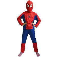 Kids Zorro Spiderman Costume Outfit Halloween Christmas Cosplay Party Gift Suits