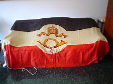 GERMAN ORIGINAL IMPERIAL POST OFFICE FLAG 1893-1921 REICHS-POSTAMTSFLAGGE BIG