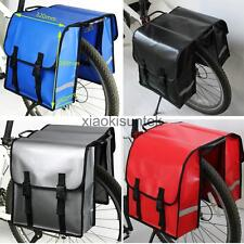 Water Proof Double Panniers Bag Cycle Cycling Bike Bicycle Pannier Carrier Pouch