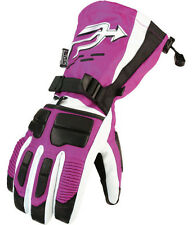 Arctiva Comp S6 Womens Insulated Snowmobile Gloves Purple