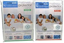 Water proof fabric mattress protector bed bug allergy dust mite cover zippered
