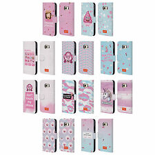 OFFICIAL EMOJI PASTEL SASS LEATHER BOOK WALLET CASE COVER FOR SAMSUNG PHONES 1