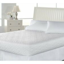 NEW Mattress Pad Protect Twin XL Full Queen King Size White Comfort Bedsack NIP