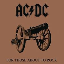 For Those About To Rock (We Salute You) - AC/DC New & Sealed CD Free Shipping