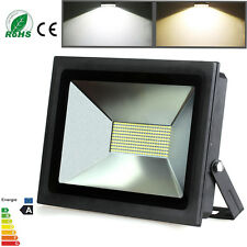 100W IP65 LED Flood Light Outdoor Warm Cool White Security Garden Flood Light