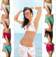 Coqueta Chiffon Sheer skirt Bikini Sarong Pareo Wrap Cover Up salida bano canga