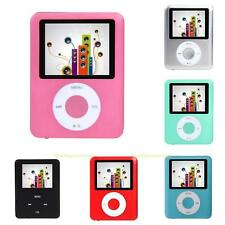 "#QZO Slim 8GB 1.8"" LCD MP4 Media MP3 Player Video Game Movie FM Radio Voice Rec"