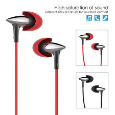 UiiSii Headsets with Mic HiFi Stereo Earphone In-Ear Earbud for iPhone Sony Mp3